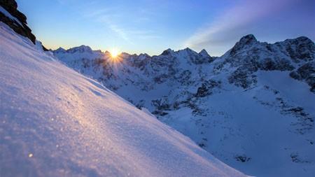 雪山,阳光,2022,自然,风景,照片高端桌面精选 3840x2160