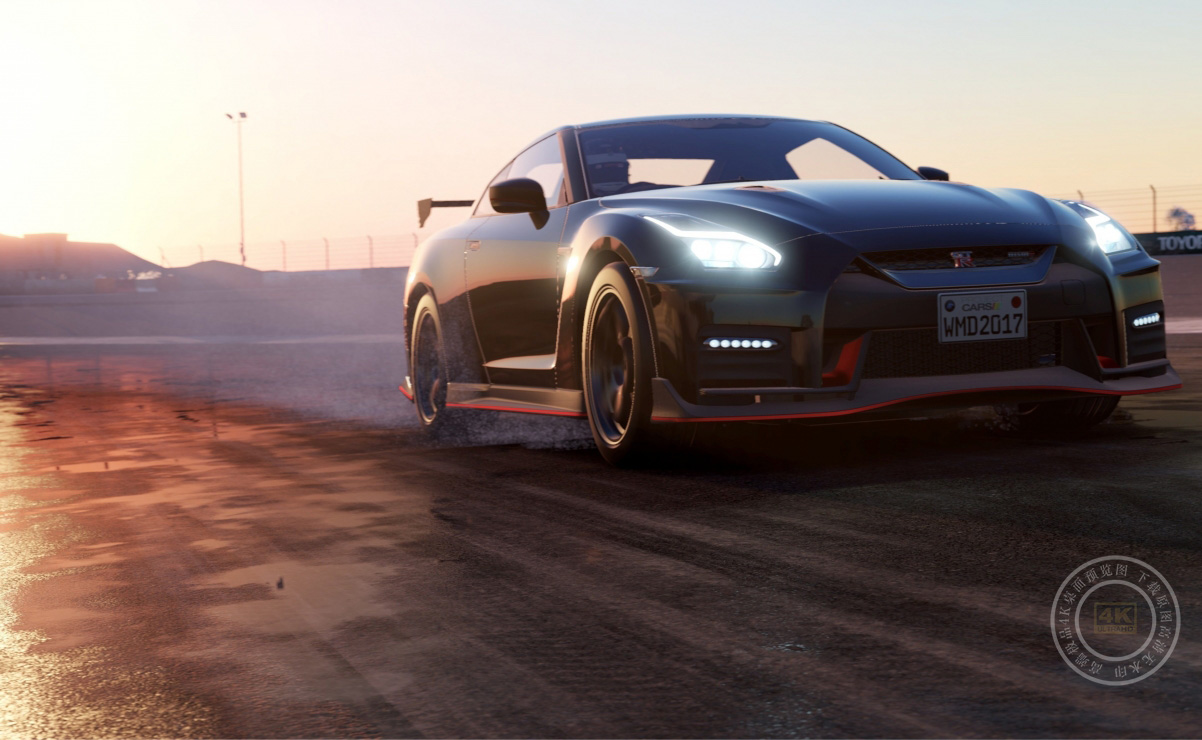 《赛车计划2(Project Cars 2)》4K高端电脑桌面壁纸