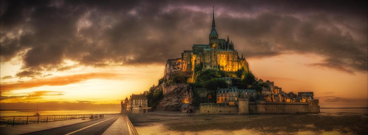 公路,建筑,城堡,异域风俗的旅游地风景图片
