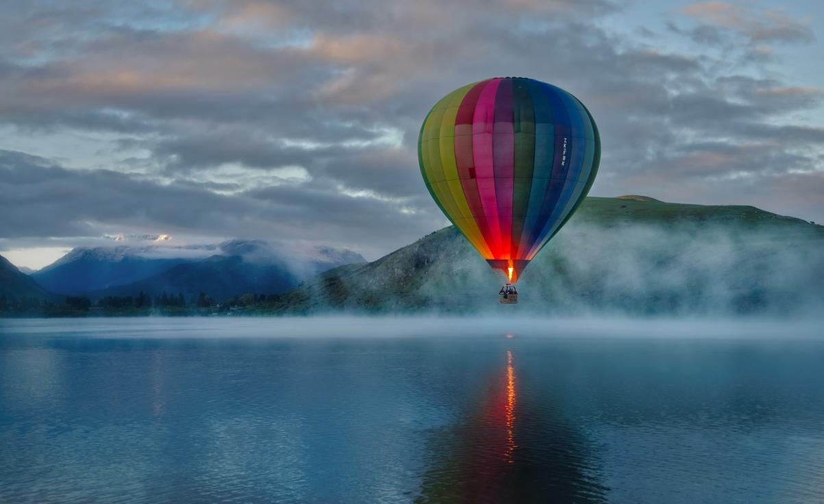 热气球7k风景高端电脑桌面壁纸