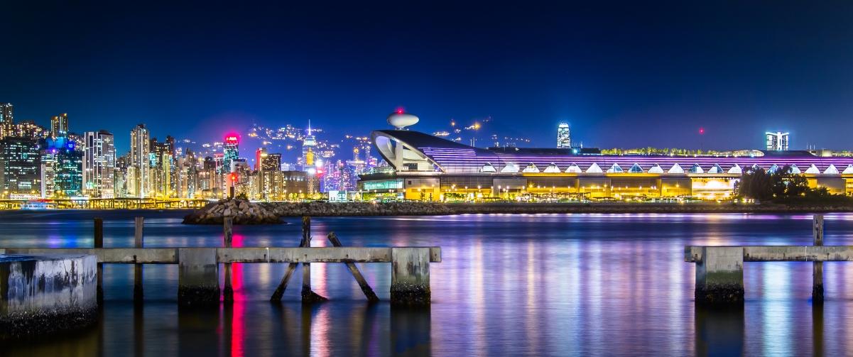 香港启德邮轮码头3440x1440带鱼屏高端电脑桌面壁纸