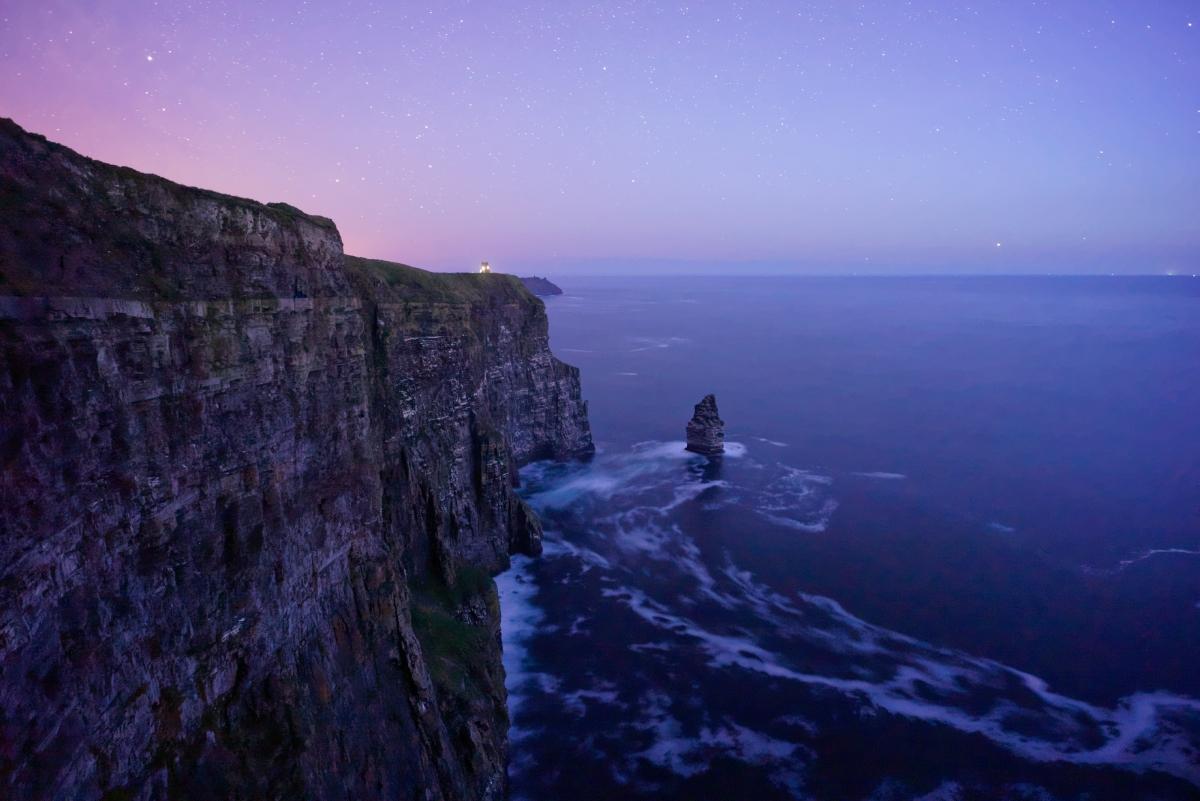 悬崖,大海风景4k高端电脑桌面壁纸