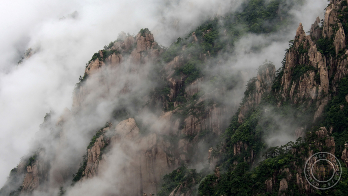 黄山风景4K高端电脑桌面壁纸