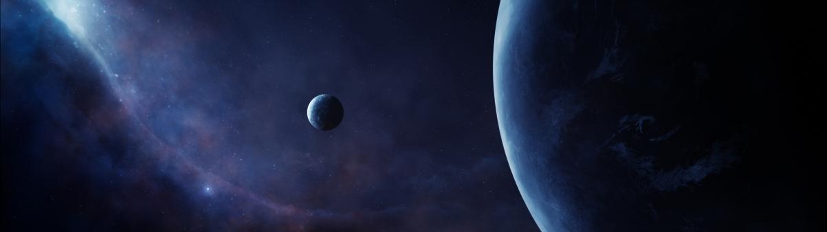 外星球太空5120x1440高端电脑桌面壁纸