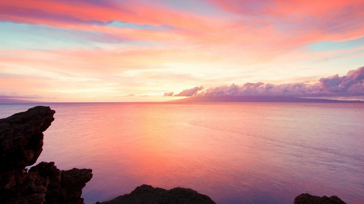 夏威夷毛伊岛海岸4K风景高端电脑桌面壁纸