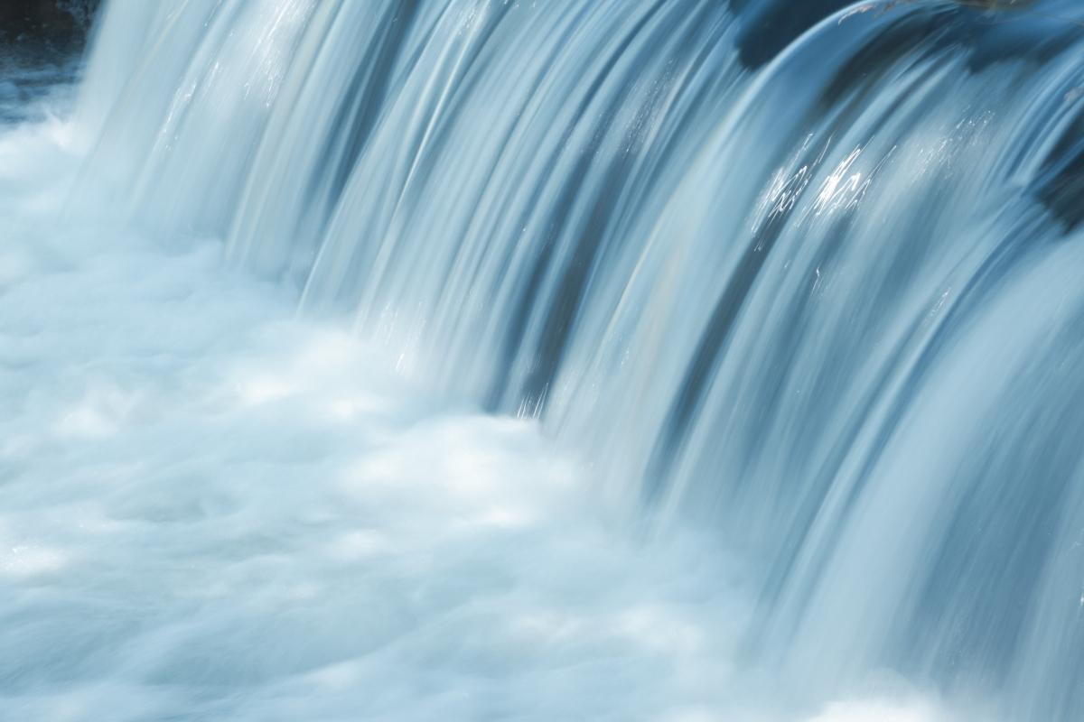 瀑布 水 6K风景图片