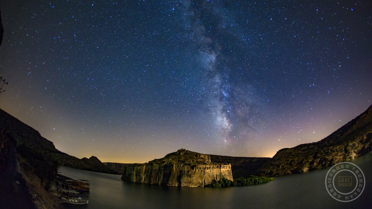 星空 银河系4K风景高清壁纸极品游戏桌面精选