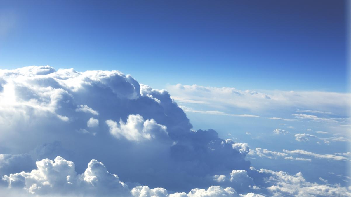 天边的云彩天空4K风景高端电脑桌面壁纸3840x2160