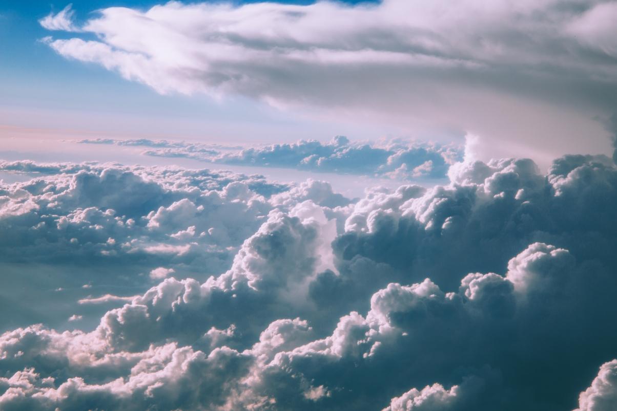空气 云 天空 云层 5K风景高端电脑桌面壁纸