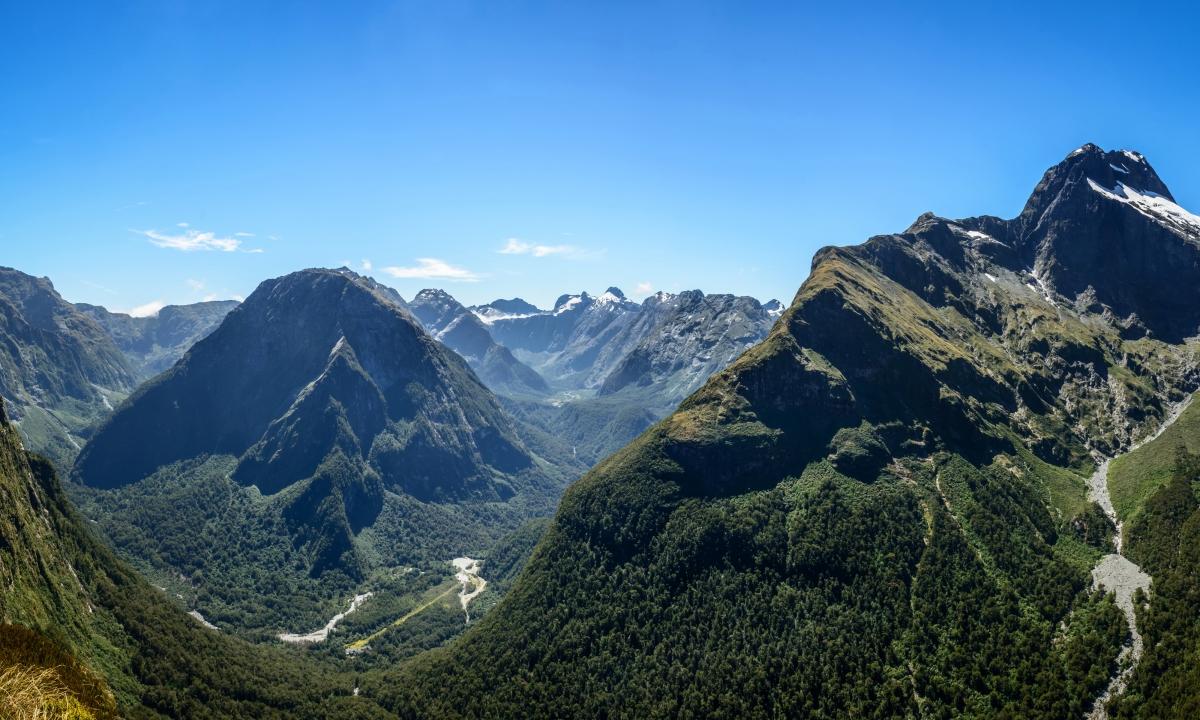 新西兰山谷4K风景高端电脑桌面壁纸