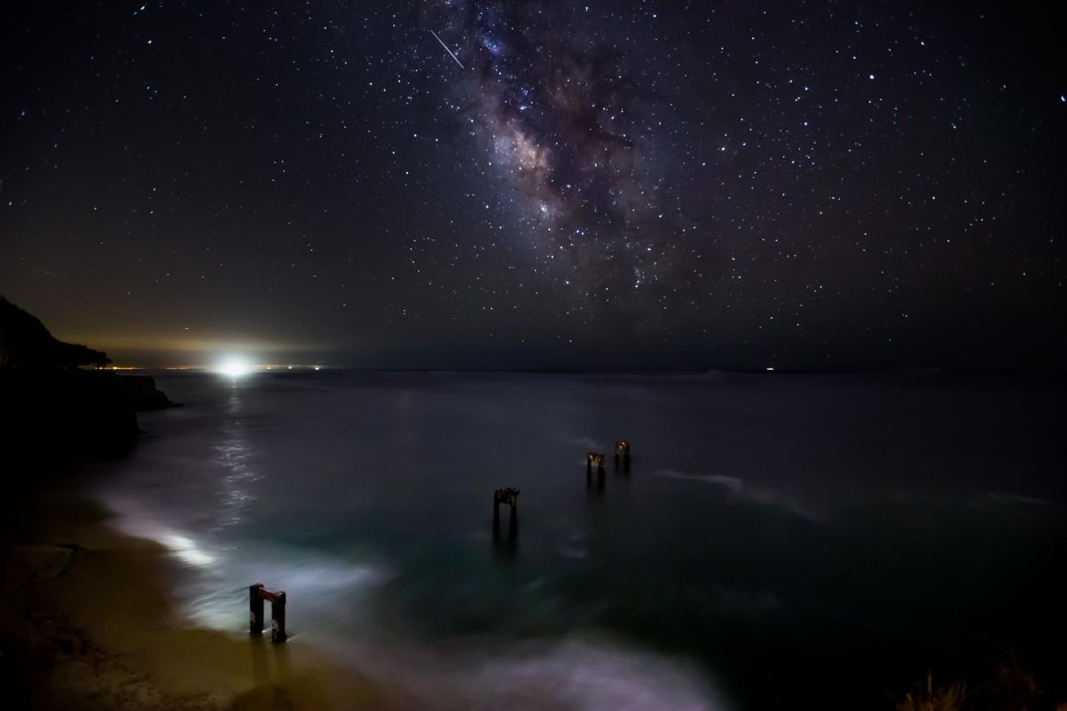 星星 黑夜 风景5K高端电脑桌面壁纸