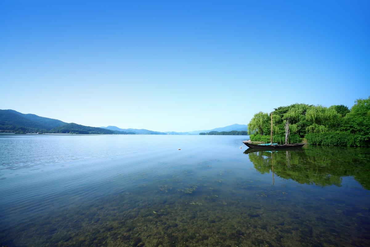 美丽的海景4k风景图片