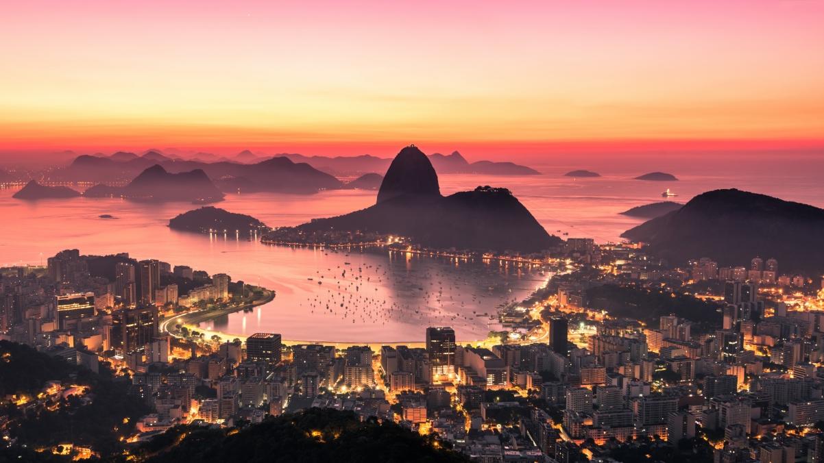 里约热内卢的日出4k风景超高清壁纸精选