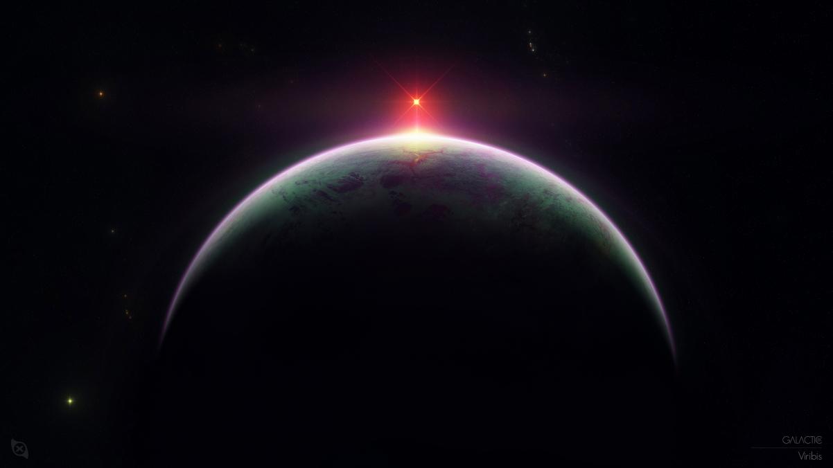 巨型行星4K高端电脑桌面壁纸