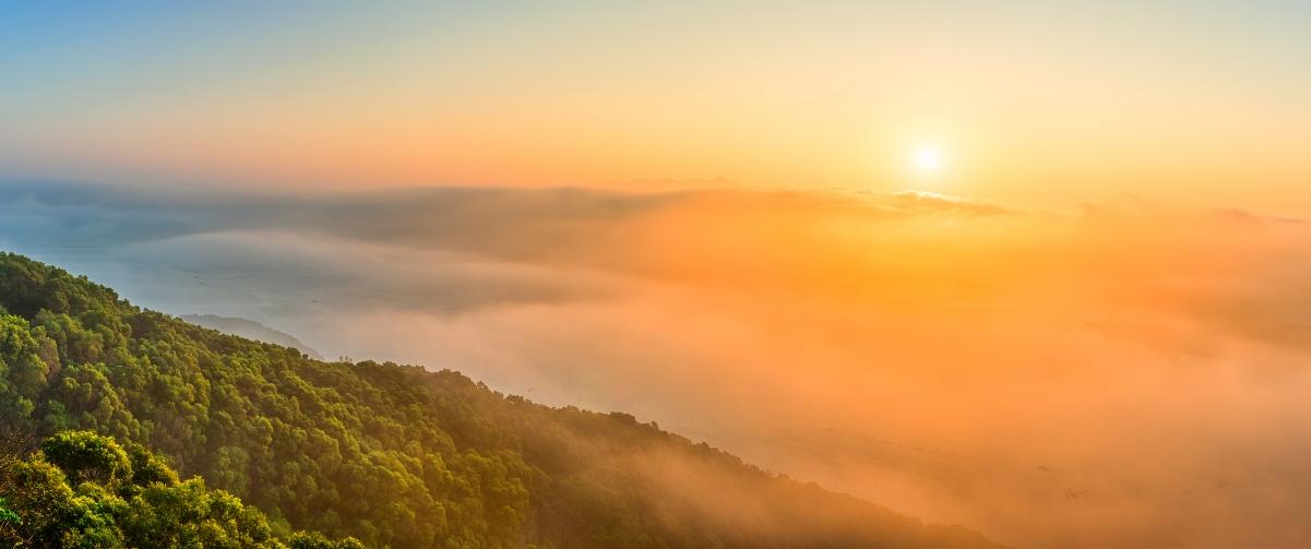日出与云海风景3440x1440带鱼屏超高清壁纸精选