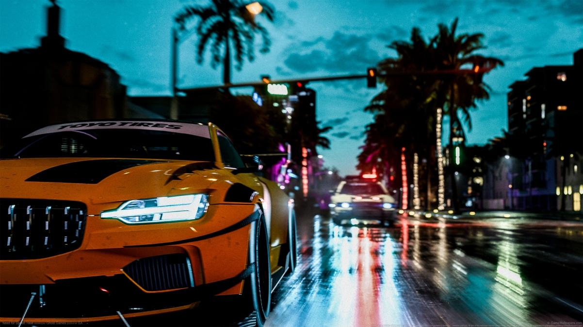 《极品飞车:热度(Need for Speed:Heat)》4k壁纸3840x2160