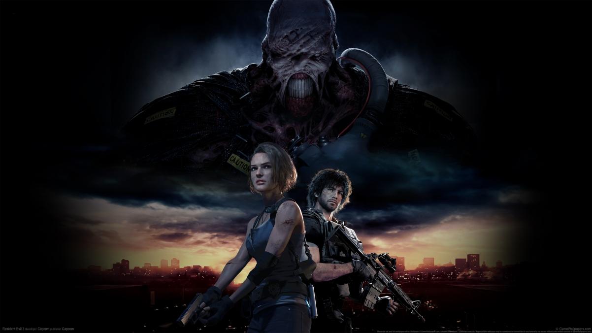 《生化危机3 Resident Evil 3 2020》4k游戏壁纸