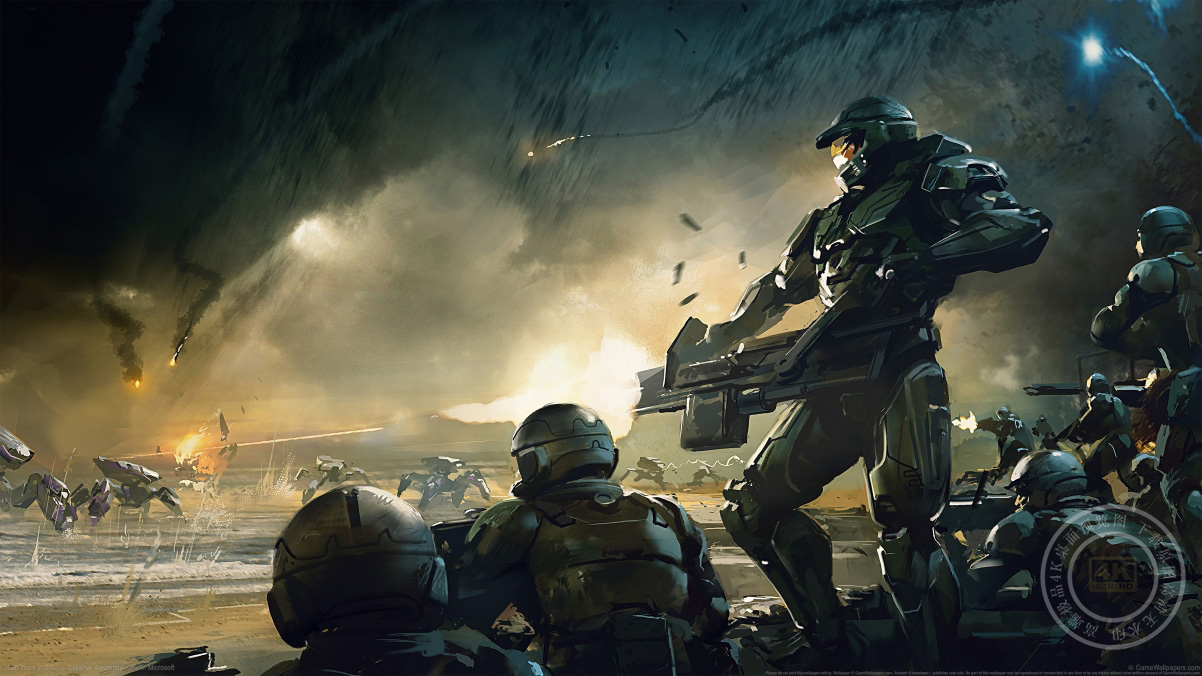 《光环战争2(Halo Wars 2)》4k游戏壁纸百变桌面精选3840x2160