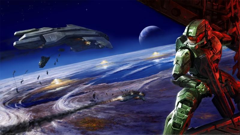 《光晕halo》行星  战舰 4K高清游戏壁纸高端桌面精选 3840x2160