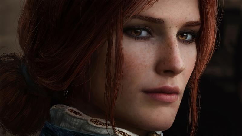 《巫师3-The Witcher3》红发 4K高清壁纸高端桌面精选 3840x2160