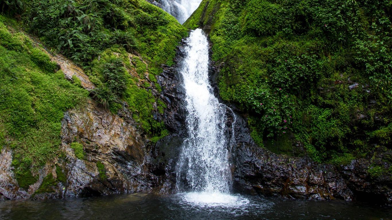 瀑布溪流,森林,2022年,景观,HDR摄影高端桌面精选 3840x2160