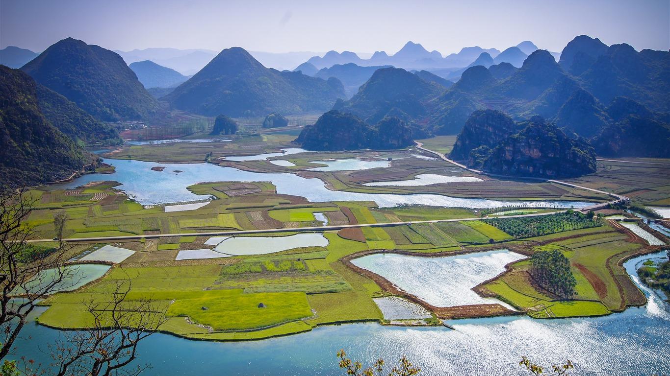 中国,贵州,旅游,河,山,风景高端桌面精选 3840x2160