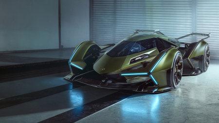 兰博基尼Lambo V12 Vision Gran Turismo概念车极品壁纸推荐高清壁纸