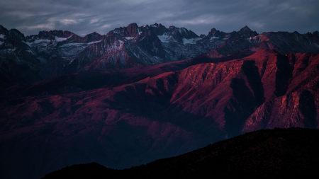 美国北美洲山脉风景摄影高端桌面4K+高清壁纸图片