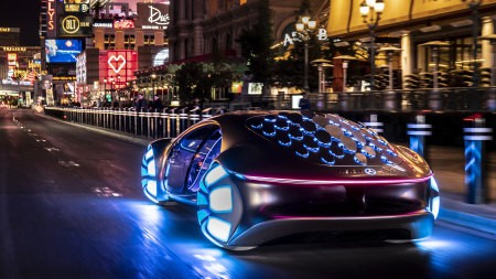 2020款梅赛德斯-奔驰Vision Avtr电动概念车百变桌面精选高清壁纸