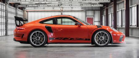 橙色保时捷911 GT3 RS极品游戏桌面精选4K+高清壁纸