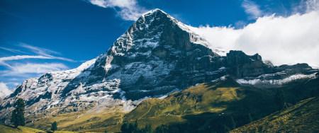 瑞士艾格尔山风景高端桌面4K+高清壁纸图片