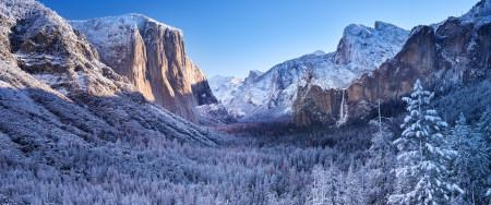 约塞米蒂国家公园冬天雪景极品游戏桌面精选4K+高清壁纸