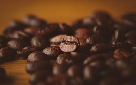 咖啡豆特写极品游戏桌面精选4K+高清壁纸