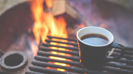 烤架上的咖啡极品壁纸推荐高清壁纸