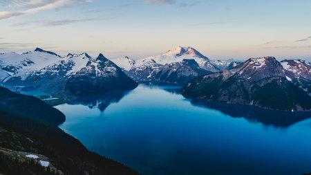 加拿大雪山风景高端桌面4K+高清壁纸图片