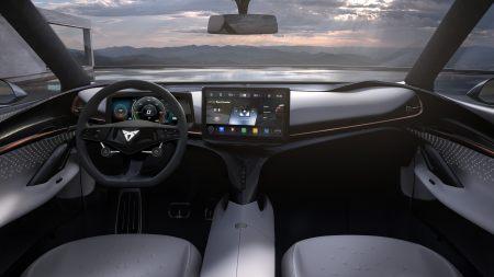 西雅特Cupra Tavascan电动汽车百变桌面精选高清壁纸