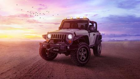 Jeep牧马人百变桌面精选高清壁纸