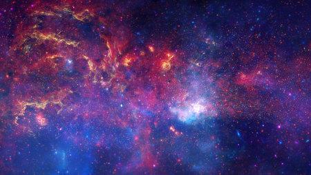 绚丽的银河系高端桌面4K+高清壁纸图片