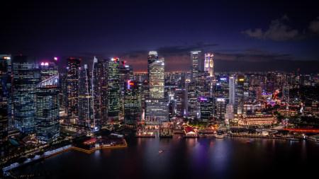 新加坡夜景高端桌面4K+高清壁纸图片