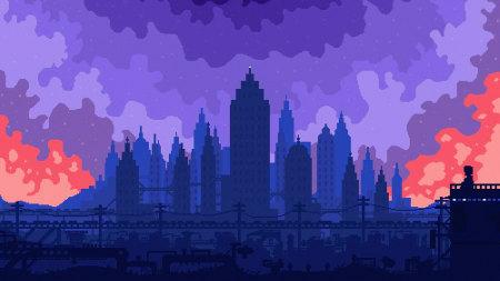 城市建筑风景插画极品游戏桌面精选4K+高清壁纸
