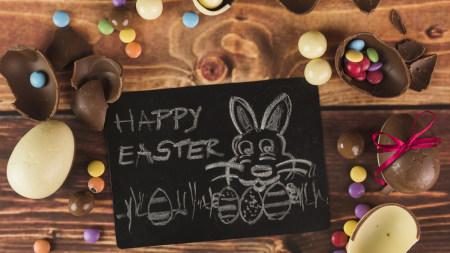 复活节彩色巧克力糖果极品游戏桌面精选4K+高清壁纸