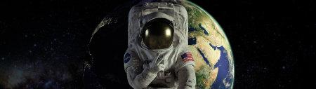 宇航员太空自拍高端桌面4K+高清壁纸图片