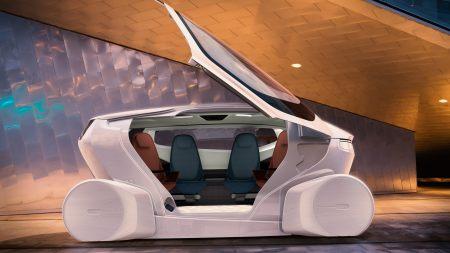 NEVS InMotion概念车高端桌面4K+高清壁纸图片
