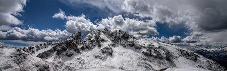 意大利美丽的白云石山风景极品壁纸推荐高清壁纸