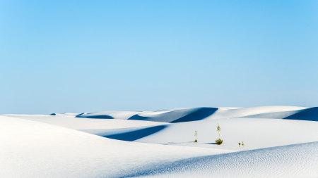 白色沙漠高端桌面4K+高清壁纸图片