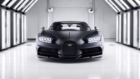 2020款黑色布加迪Chiron Noire超级跑车极品壁纸推荐高清壁纸