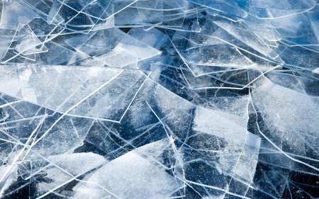 破碎的冰块高端桌面4K+高清壁纸图片