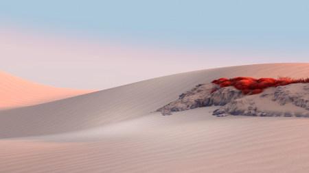 Microsoft Surface沙漠风景高端桌面4K+高清壁纸图片