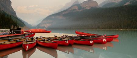 加拿大班芙国家公园露易斯湖风景高端桌面4K+高清壁纸图片