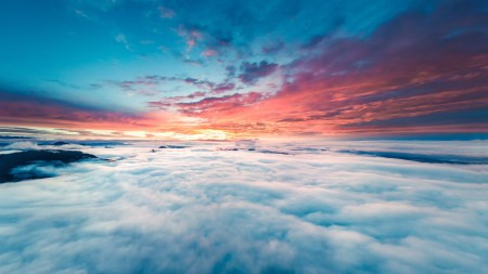 天空中的云海高端桌面4K+高清壁纸图片
